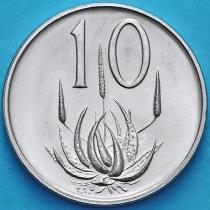 ЮАР 10 центов 1970 год.