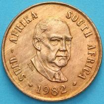 ЮАР 1 цент 1982 год. Бальтазар Йоханнес Форстер.