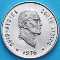 ЮАР 10 центов 1976 год. Якобус Йоханнес Фуше. Пруф.