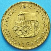 ЮАР 1 цент 1964 год.