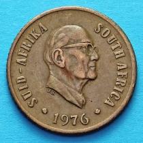 ЮАР 1 цент 1976 год. Якобус Йоханнес Фуше.