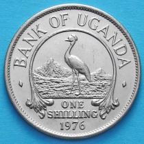 Уганда 1 шиллинг 1976 год.