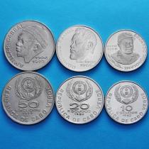 Кабо Верде набор 3 монеты 1977-1982 год.