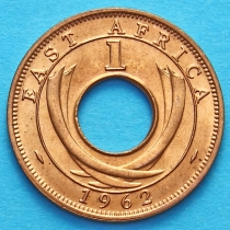 Британская Восточная Африка 1 цент 1962 год. Н.
