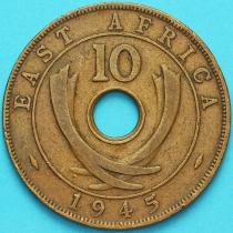 Британская Восточная Африка 10 центов 1945 год