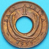 Британская Восточная Африка 1 цент 1959 год. Из обращения.