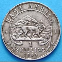Британская Восточная Африка 1 шиллинг 1949 год.