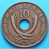 Британская Восточная Африка 10 центов 1928 год