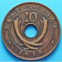 Британская Восточная Африка 10 центов 1939 год (Н)
