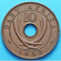 Британская Восточная Африка 10 центов 1952 год. №1