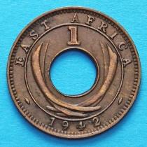 Британская Восточная Африка 1 цент 1942 год.
