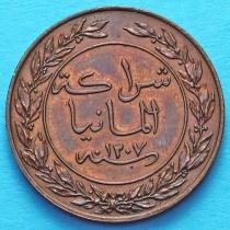 Немецкая Восточная Африка 1 пеза 1890 год. №1