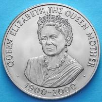 Остров Вознесения 50 пенсов 2000 год. Королева-Мать