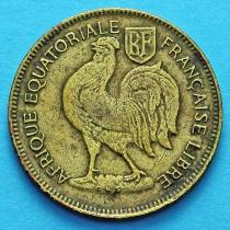 Французская Экваториальная Африка 50 сантим 1942 год. №1