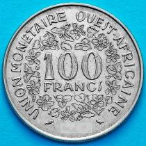 Западная Африка 100 франков 1971 год.