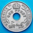 Монета Британская Западная Африка 1 пенни 1940 год.
