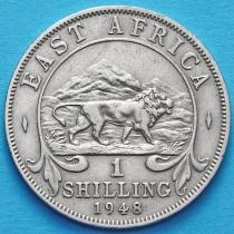 Британская Восточная Африка 1 шиллинг 1948 год.