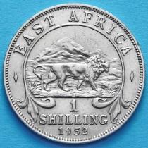 Британская Восточная Африка 1 шиллинг 1952 год.