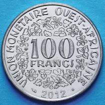 Западная Африка 100 франков 2012 год.