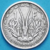 Западная Африка 1 франк 1955 год. VF