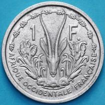 Западная Африка 1 франк 1955 год. ХF