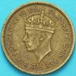 Монета Британская Западная Африка 1 шиллинг 1949 год.