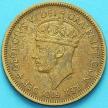 Монета Британская Западная Африка 1 шиллинг 1951 год.