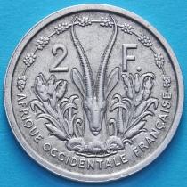 Западная Африка 2 франка 1948 год.