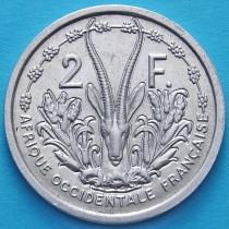 Западная Африка 2 франка 1955 год.