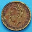 Монета Британской Западной Африки 6 пенсов 1942 год.