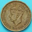 Монета Британская Западная Африка 1 шиллинг 1949 год. Н
