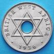 Монета Британской Западной Африки 1 пенни 1936 год. Н