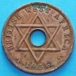 Монета Британской Западной Африки 1 пенни 1956 год. Н.