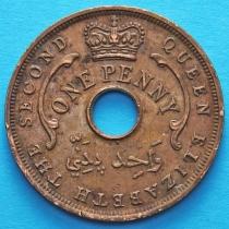 Британская Западная Африка 1 пенни 1956 год. Н.