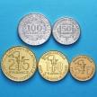 Западная Африка набор 5 монет 2010-2012 год.