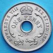 Монета Британской Западной Африки 1 пенни 1936 год. KN.