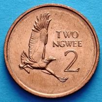 Замбия 2 нгве 1983 год. Боевой орёл.