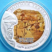 Палау 1 доллар 2010 г. Мать Тереза, 1910 год