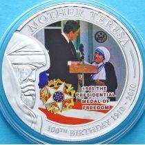 Палау 1 доллар 2010 г. Мать Тереза, Медаль Свободы