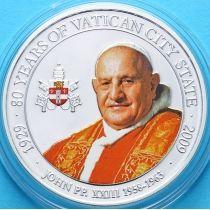 Палау 1 доллар 2009 г. Папа Иоанн XXIII