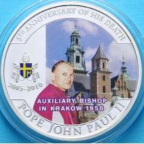 Палау 1 доллар 2010 год. Викарный епископ Кракова