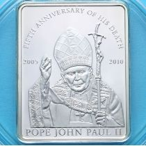 Палау 1 доллар 2010 г. Иоанн Павел II