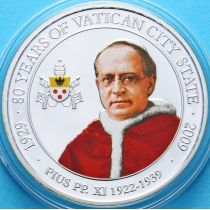 Палау 1 доллар 2009 г. Папа Пиус XI