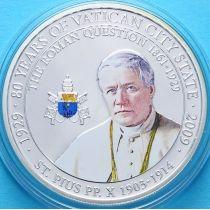 Палау 1 доллар 2009 г. Папа Пиус X