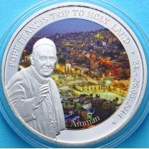 Того 100 франков 2014 г. Визит на Ближний Восток
