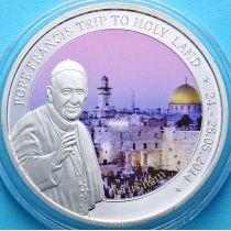 Того 100 франков 2014 г. Визит в Иерусалим