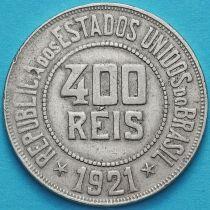 Бразилия 400 рейс 1921 год.