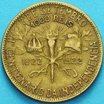 Бразилия 1000 рейс 1922 год. 100 лет независимости.