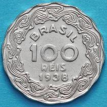Бразилия 100 рейс 1938 год. Жетулиу Дорнелис Варгас.