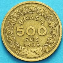 Бразилия 500 рейс 1939 год. Жоаким Мачадо де Ассис. VF.
